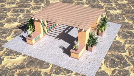 Niche Pergolas Base Option 3
